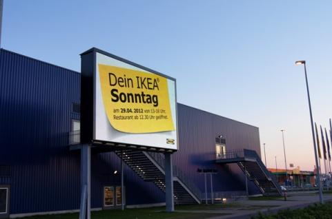 """""""Papier kann jeder. Wir können auch LED."""" Mit diesem Slogan setzt IKEA BL neue Maßstäbe."""